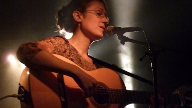 Maëlle Levacher chante en solo